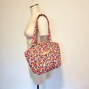 VERA BRADLEY Glenna Polka Dot Bag Pixie Confetti